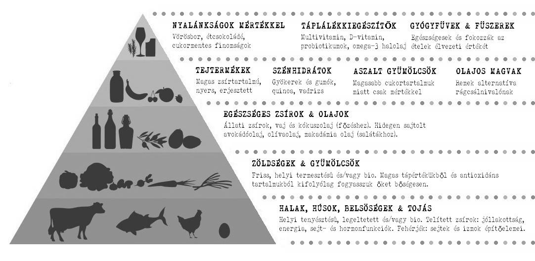 Paleo táplálékpiramis