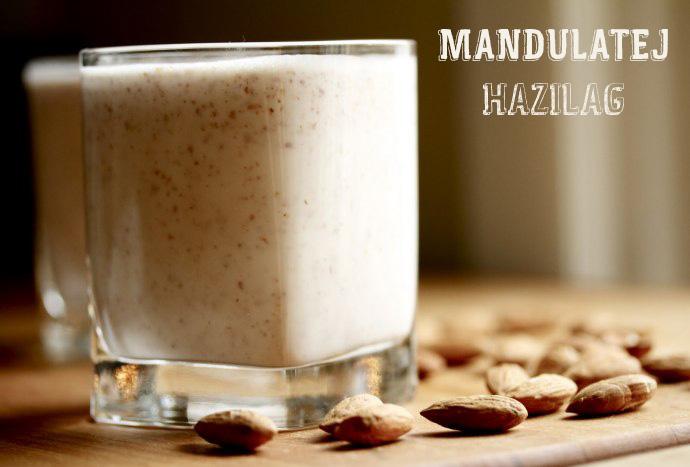 Mandulatej-hazilag