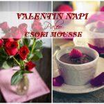 Valentin napi paleo csoki mousse