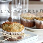 Kapros-cukkinis paleo muffin