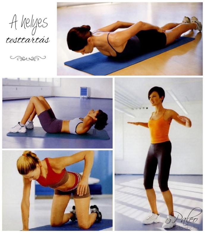 Alakformálás: helyes testtartás